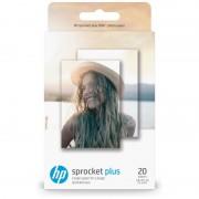 HP Papel Fotográfico Adesivo HP Sprocket Plus 20 Folhas 5.8 x 8.7 cm