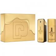 Paco Rabanne 1 Million Комплект (EDT 100ml + Deo Spray 150ml) за Мъже