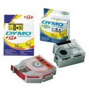 Dymo Etiketter Dymo D1 Standard Label Tape Cartridge, Blå/vit 12 Mm X 7 M 45014
