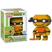 Teenage Mutant Ninja Turtles Funko POP! 8-Bit Neon Michelangelo Vinyl Figure
