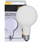 Opale globe LED lamp 5,5W 608 lumen E27 2700K warm wit 15,7cm hoog dimbaar
