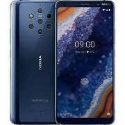 Nokia 9 Pureview TA-1082 128 GB gsm teléfono Android Desbloqueado, Midnight Blue + Clear Case