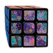Lajro Rompecabezas personalizados 3x3 Juguetes para niños Los mejores juguetes de entrenamiento cerebral 3x3x3 Creatividad rica Moda Pintura linda Cubo mágico Juego de fiesta 3x3 Para niños Niñas Niños peq