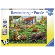 PUZZLE ANIMALUTE JUCAUSE, 200 PIESE - RAVENSBURGER (RVSPC12828)