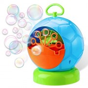 Leedemore Bubble Machine, Automatic Durable Blower for Kids, Soap Bubbles Maker Christmas, Parties, Barbecue, Ball, Wedding