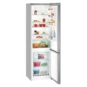 Combina frigorifica Liebherr CNel 4813, 338 L, No Frost, Display, Control electronic, Sertar fructe si legume, H 201.1 cm, A++, Argintiu