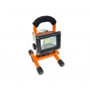 Solight WM-10W-DE - LED proiector exterior reincarcabil cu suport LED/10W/8,4V/230V