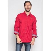 Wildstream Heren Overhemd Red