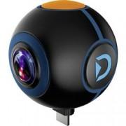 Discovery Adventures Přídavná kamera Discovery Adventures HD 720P 720° Android Action Camera Spy, černá