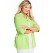 Sara Poplin Shirt - Lime