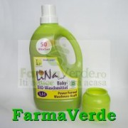 Baby Detergent lichid pentru rufe, Organic BIO, aroma de musetel