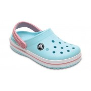 Crocs Crocband™ Klompen Kinder Ice Blue/White 24
