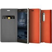 NOKIA Slim Flip Case voor Nokia 5 Bruin