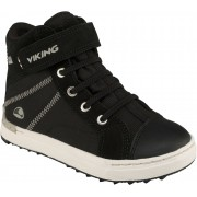 Viking Sagene MID GTX Sneakers, Black/White 29
