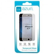 Azuri smartphone screenprotector Tempered Glass Screen Protector voor Apple iPhone 6/6S transparant