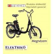 Z-zech ZT-07 elektromos kerékpár Lithium-ion akkumulátorral , fekete színben