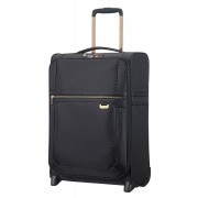 Samsonite Uplite 55x35x23cm 2-Wheel Upright Cabin Case - Black/Gold
