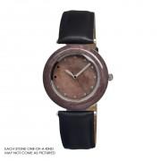 Earth Et1008 Purple Stone Unisex Watch