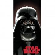 Star Wars Katoenen strandlaken met Darth Vader print 70 x140 cm