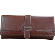 BROWN Casual Brown Clutch