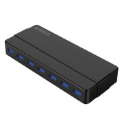 ORICO H7928-U3 ABS Material Desktop 7 Ports USB 3.0 HUB with 1m Cable(Black)