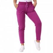 Pantaloni sport pentru dame cod DD89 Mov