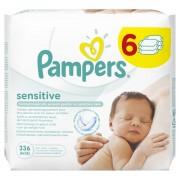 Pampers Sensitive dječje vlažne dječje maramice - 336