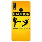 Husa silicon pentru Huawei P20 Lite This Is Sparta Funny Illustration