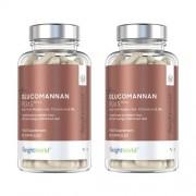 WeightWorld Glucomannan capsules - Onderdruk de eetlust en verliest snel en gemakkelijk gewicht - 2 pack