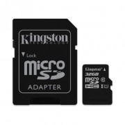 TARJETA MICROSD HC - 32GB + ADAPTADOR KINGSTON CANVAS SELECT - CLASE 10 - 80MB/S