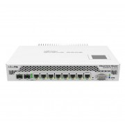 MikroTik MikroTik Cloud Core Router 1009-7G-1C-1S+PC with Tilera Tile-Gx9 CPU (9-cores, 1Ghz per core), 2GB RAM, 7xGbit LAN, 1x Combo port (1xGbit LAN or SFP), 1x SFP+ cage, RouterOS L6, LCD panel, passive coo