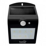 Reflector LED cu panou solar cu senzor de miscare negru Home FLP 2/BK Solar 1200 mAh
