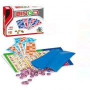 Emob Bingo Lotto Family Board Game Set With 90 Number Ball and 48 Cards Board Game