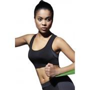 Sutien sport Teamtop negru L