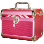 Pride Crown to store cosmetics Vanity Box (Pink)