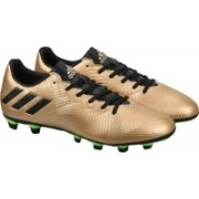 ADIDAS MESSI 16.4 FXG Football Shoes For Men(Gold)