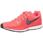 Nike Air Zoom Pegasus 34 880560-602 Tenis para correr para Mujer, Rojo, 9.5US, 26.5 MEX