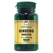 Supliment Alimentar Ginseng Siberian 1000mg 30cps Cosmo Pharm