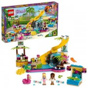 Lego Friends Andreas poolparty 41374