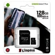 Micro SD Kingston Canvas Select Plus 128GB Micro SDXC + adapter (SDCS2/128GB)
