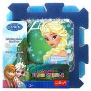 Covor puzzle spuma 8 piese Frozen Elsa