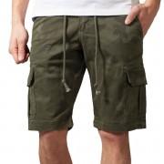 Herren Shorts URBAN CLASSICS - Camo Cargo - olive camo - TB1612-olive camo