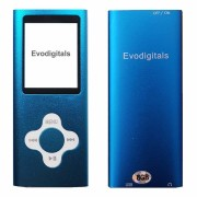 Evodigitals (Blue, 16GB) 16GB Evo Elite MP3 Music Video Player With FM +
