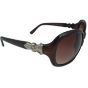 Polo House USA Oval Sunglasses(Grey)