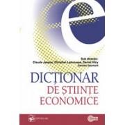 Dicţionar de ştiinţe economice.