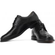 Clarks Dorset Limit Genuine Leather Lace Up Shoes For Men(Black)
