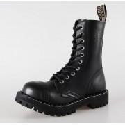 Boots STEEL Springerstiefel - 10 Loch black ( 105/106 Black)