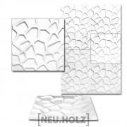 3D Панел за стенна декорация [neu.haus]® ,мотиви камъни, 50 x 50 cm, 6m²
