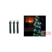 LED-es fényfüzér, 200LED, 8pr., hidegfehér, kültéri