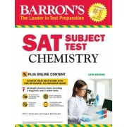 Barron's SAT Subject Test: Chemistry: With Bonus Online Tests, Paperback (14th Ed.)